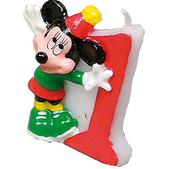 Vela número 1 Mickey Mouse Disney - Pack de 12
