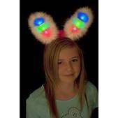 Orejas de conejita con luz multicolor - Pack de 3