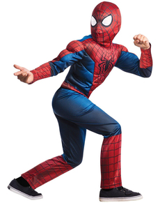 Disfraz The Amazing Spiderman 2 deluxe para niño