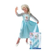Frozen Elsa costume with wig for a girl