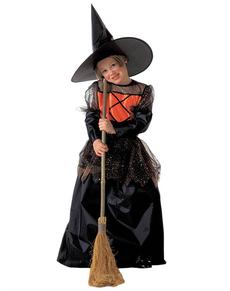 Disfraz de bruja guapa para niña