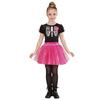 Disfraz de bailarina esqueleto para niña
