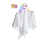 Fantasma con luces de colores cambiantes 50 cm
