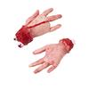 Mano cuatro dedos tamaño real