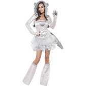 Costume loup fever pour femme