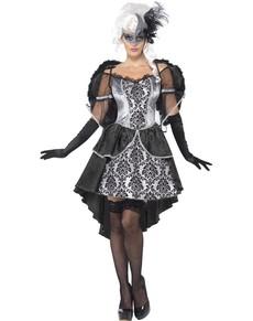 Disfraz de ángel barroco para mujer