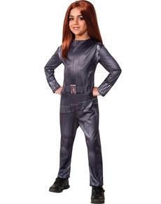 Disfraz de Viuda Negra Capitán América: El Soldado de Invierno para niña