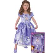 Costume Princesse Sofia fille (boîte-vitrine )