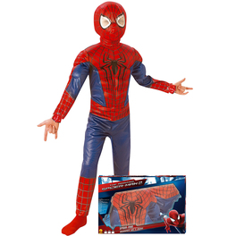 Disfraz The Amazing Spiderman 2 para niño en caja