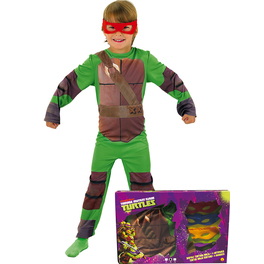 Disfraz de Las Tortugas Ninja para niño en caja