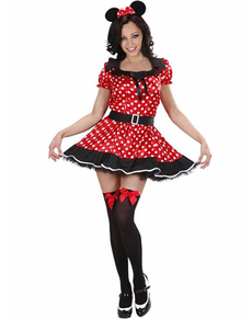 Disfraz de Ratoncita Mouse para mujer