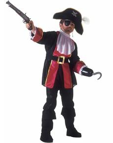 Disfraz de capitán pirata para niño
