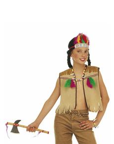 Kit disfraz de india infantil