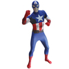 Disfraz de Capitán América Classic Morphsuit