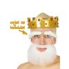 Barba blanca mediana
