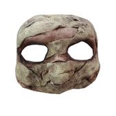 Media máscara de Momia de látex
