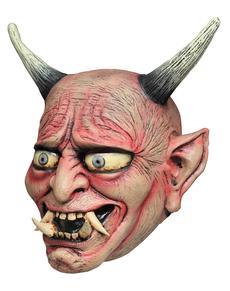 Máscara Oni Demon de látex