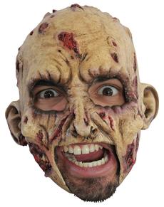 Máscara Zombie de látex con dientes