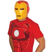 Máscara Iron Man Marvel deluxe para adulto