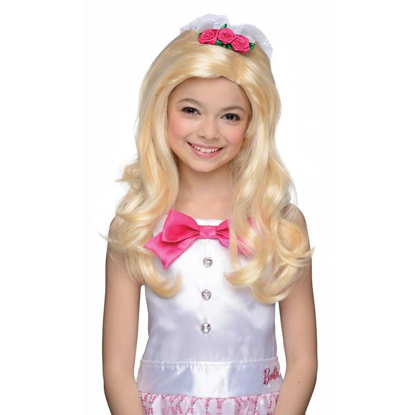 Perruque barbie mari e fille funidelia - Barbie mariee ...