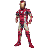 Disfraz de Iron Man Vengadores: La Era de Ultrón deluxe para niño