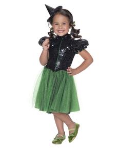 Disfraz de La bruja del Oeste El Mago de Oz para niña