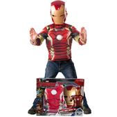 Kit disfraz Iron Man Los Vengadores 2 La Era de Ultrón para niño