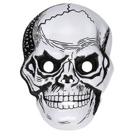 Máscara calavera de plástico para hombre