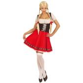 Disfraz de Heidi seductora para mujer talla grande