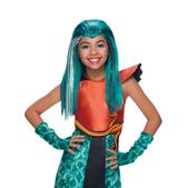 Peluca de Nefera de Nile Monster High para niña