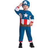 Disfraz de Capitán América Marvel para niño