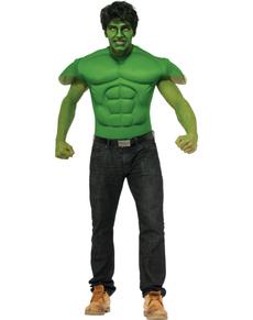 Camiseta de Hulk Marvel musculoso para adulto