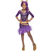 Disfraz de Clawdeen Wolf Monster High classic para niña