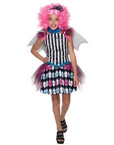 Disfraz de Rochelle Goyle Monster High classic para niña
