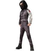 Disfraz de Soldado de Invierno Capitán América: el Soldado de Invierno deluxe para niño