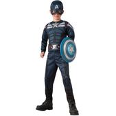 Disfraz de Capitán América: el Soldado de Invierno reversible para niño