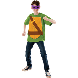 Kit disfraz de Donatello Las Tortugas Ninja para niño