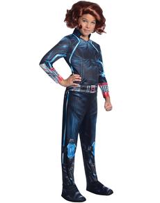 Disfraz de Viuda Negra Vengadores: La Era de Ultrón para niña