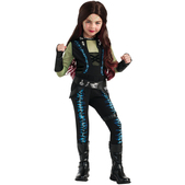 Disfraz de Gamora Guardianes de la Galaxia para niña