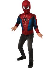 Kit disfraz Spiderman luminoso para niño