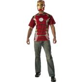 Kit disfraz Iron Man Vengadores: La Era de Ultrón para adulto