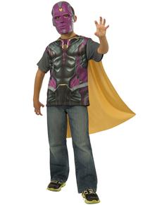 Kit disfraz Visión Los Vengadores La Era de Ultrón  para niño
