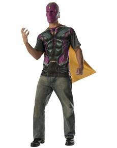 Kit disfraz de Vision Vengadores: La Era de Ultrón para hombre
