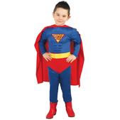 Disfraz de héroe súper poderoso para niño