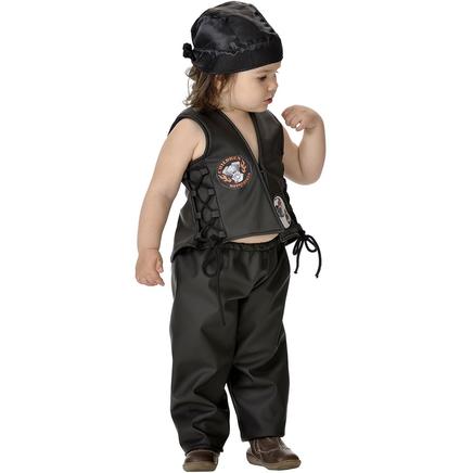 Disfraz de motero bebé