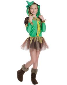 Disfraz de Espantapájaros El Mago de Oz tutú para niña