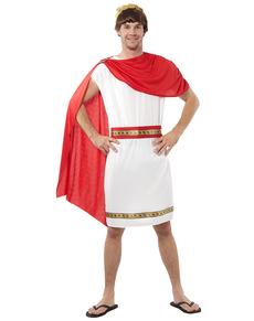 Disfraz de romano rojo para hombre