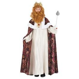 Disfraz de rey Melchor para niño