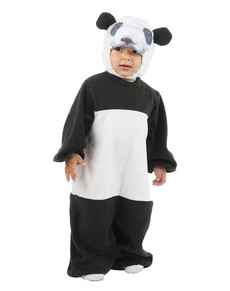Disfraz de oso panda bebé