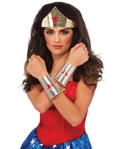 Kit accesorios de Wonder Woman DC Comics para mujer